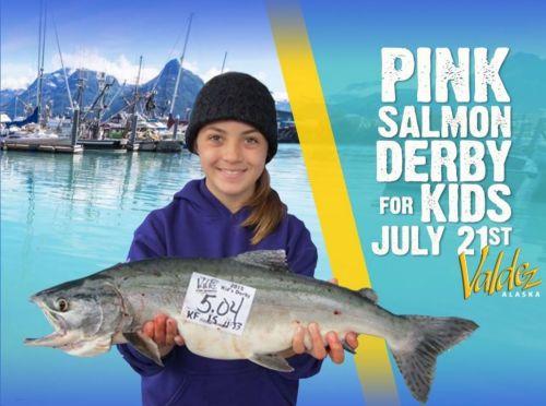 Valdez Pink Salmon Derby 2018