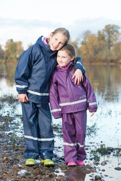 Drift Creek Outdoors Granyte Frogger Youth Raingear Set