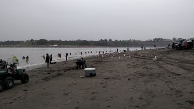 Kenai dipnetting fun even in the rain