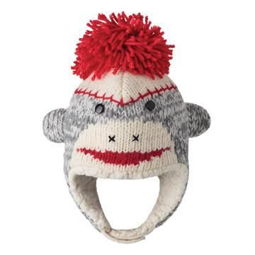 Sock Monkey Infant hat