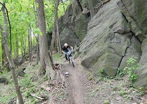 Mountain biking to inspire youth