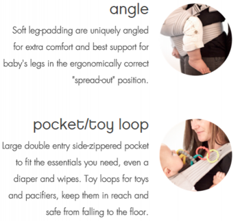 Nexstep angle and pocket toy loop