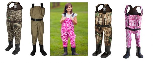 Oakiwear kids breathable and neoprene chest waders