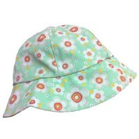 Daisy Darling Teal Rain Hat for Girls