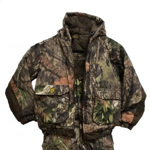 Scentblocker Insulated Youth Camo Jacket