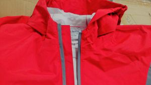 New Trail rainsuit 2 layer with PU lining and new zipper