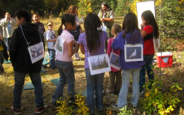 WISE Earth Discovery Day outdoor lessons for kids