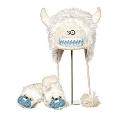 Knitwit Yeti Hat and Mittens