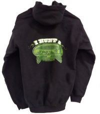 Black and Green Hoodie