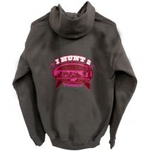 Gray and pink girls hoodie