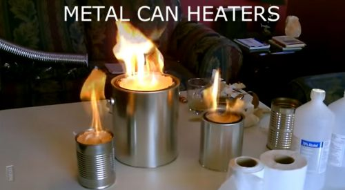 DIY Metal Can Heaters