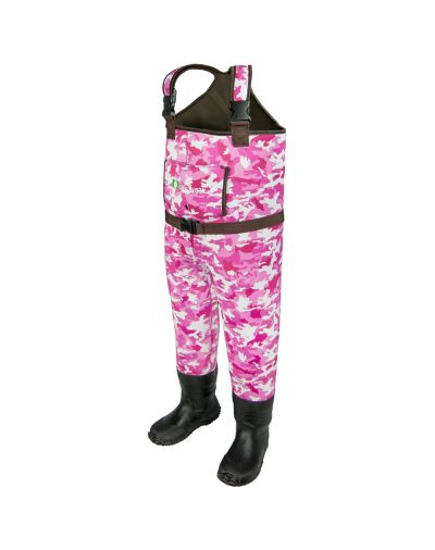 Oakiwear Girls Pink Neoprene Chest Waders