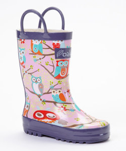 Oakiwear Perched Own Rain Boots