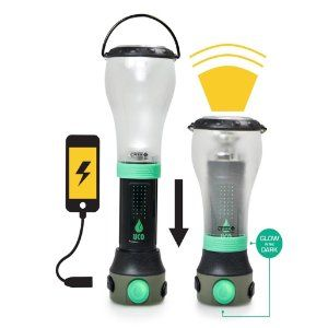 UCO Tetra LED rechargeable lantern